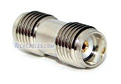 SMA female to female coupler adapter